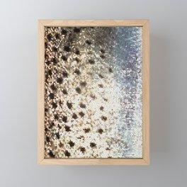 Trout Scales Framed Mini Art Print
