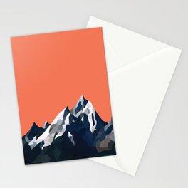 Geo Mountain Range (Part 1) Stationery Cards