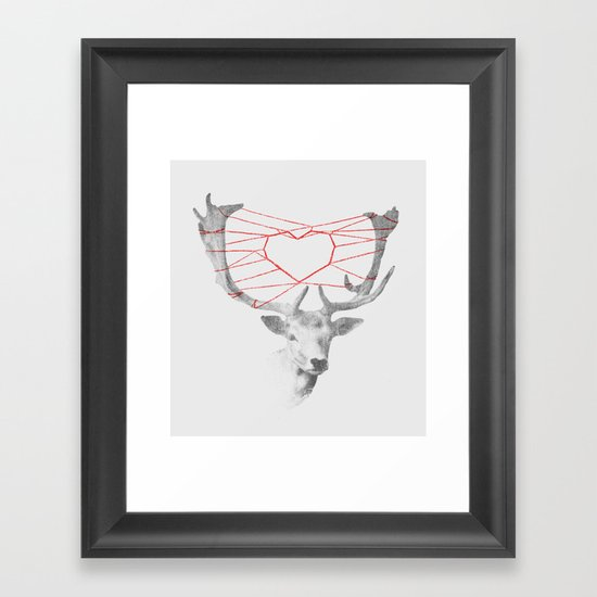 How are you dearie Framed Art Print