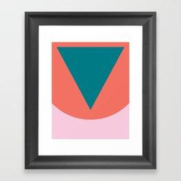 Cacho Shapes LXXXII Framed Art Print