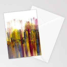 Going Downtown: Pontiac Stationery Cards
