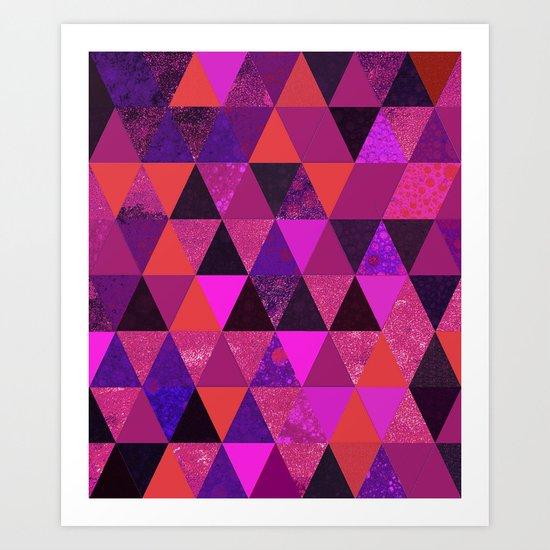 Abstract #831 Art Print