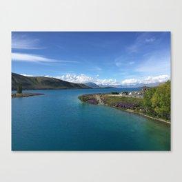 Lake Tekapo   New Zealand    Landscape Photography Canvas Print