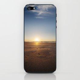 Beach Walk at Sunrise iPhone Skin