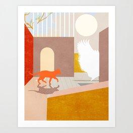 the dream (ver.2) Art Print