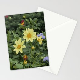 A flower bed Stationery Cards