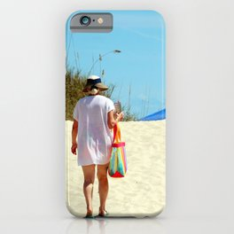 Time Away At The Beach iPhone Case