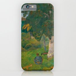 """Paul Gauguin """"Coming and Going, Martinique"""" iPhone Case"""