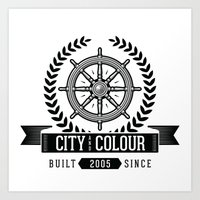 City and Colour Art Print