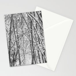 Woodland snow Stationery Cards