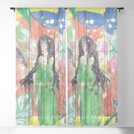 Fairy Queen Sheer Curtain
