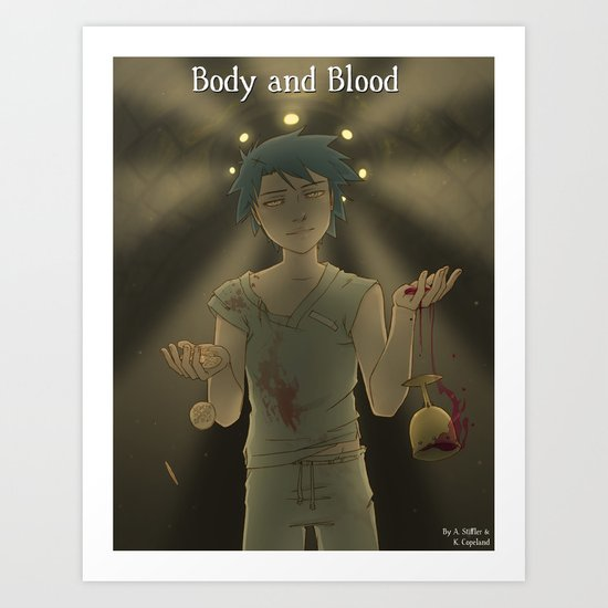 Body & Blood - Chapter Cover Art Print