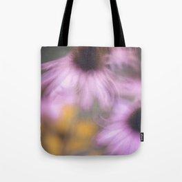 whispy flowers Tote Bag