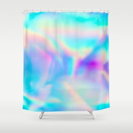 Iridescence Shower Curtain