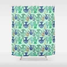 Persian Pots Shower Curtain