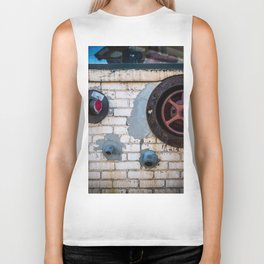 Shapes of Things, Street Photography Brick Firemen Accessories Biker Tank