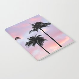 Palm Trees Sunset Photography Notebook
