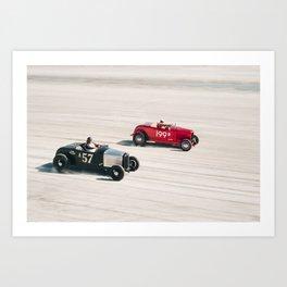 The Race of Gentlemen 7 Art Print