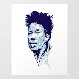 Tom Waits Portrait Art Print