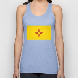 Flag of New Mexico - Authentic High Quality Image Unisex Tank Top