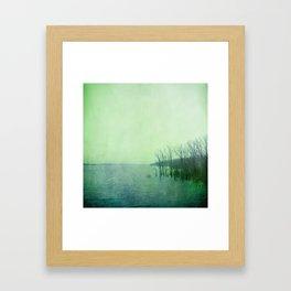 Inner Journey - Blue Framed Art Print