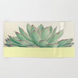 Succulent Dip II Beach Towel