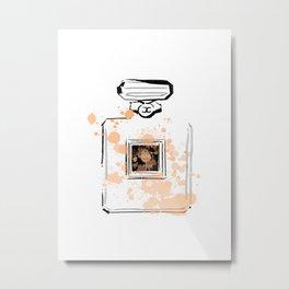 Beghe Perfume Metal Print