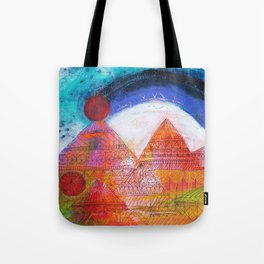 Summit Mountain Rainbow Tote Bag