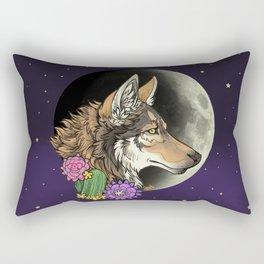 coyote night Rectangular Pillow