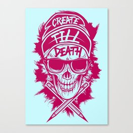 Create Till Death Canvas Print