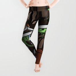 Unlikely Companions Leggings