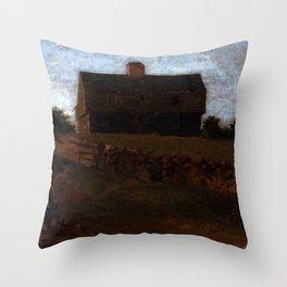 Robert Junkins' Garrison House York Maine Throw Pillow