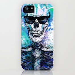 Cool Skull 01 iPhone Case