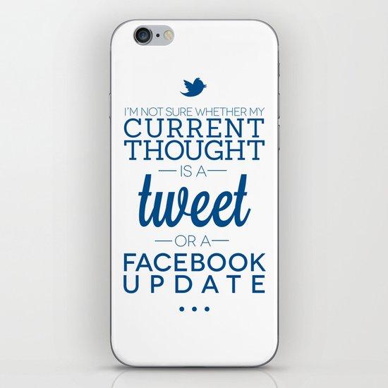 Social Media iPhone & iPod Skin