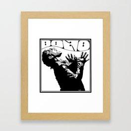 Bono Fan Art Framed Art Print