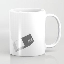 Funny Command Z Undo Eraser Coffee Mug