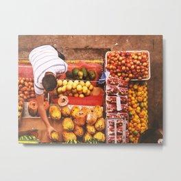 Fruit Market  - Latinoamerica Metal Print