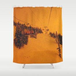 Sunshine Chairlift Shower Curtain