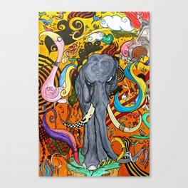 O Elefante no Meio da Sala Canvas Print