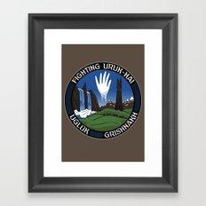 Mission to Isengard Framed Art Print