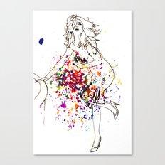 high fashion Canvas Print