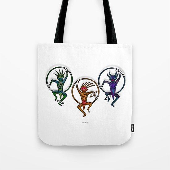HOOP DANCERS II Tote Bag