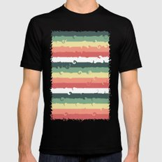 Candy Roll Mens Fitted Tee Black MEDIUM