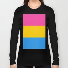 Pansexual Pride Flag v2 Long Sleeve T-shirt