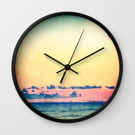 You Should Be Here Wall Clock