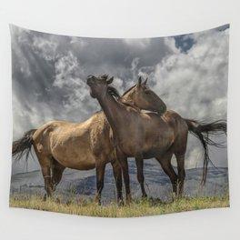 Montana Horses Wall Tapestry