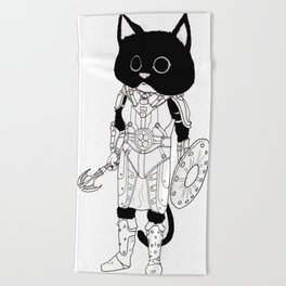 Ju'Lias, Khajiit of Adventure Beach Towel