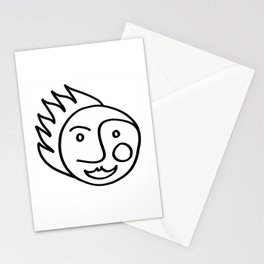 Smiling Face Stationery Cards