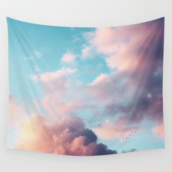 Clouds Paradise Wall Tapestry
