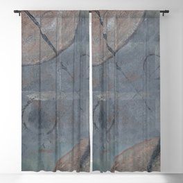 Charted Space 2 (Best Intentions) Blackout Curtain